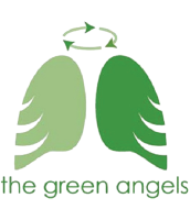 The Green Angels Logo