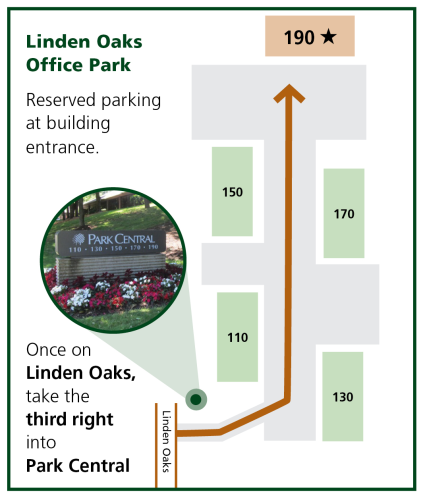 Linden Oaks Map